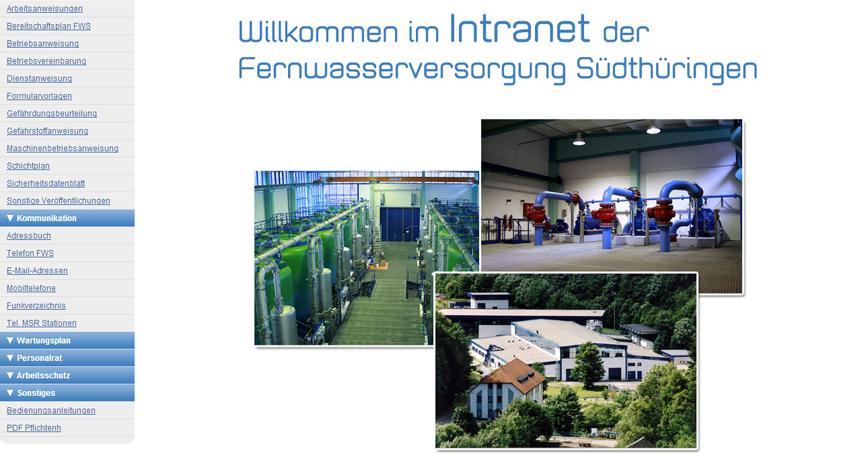 Fernwasserversorgung Südthüringen
